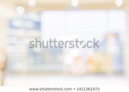 a bright and warm corridor stock photo © hasloo