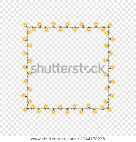 résumé · brillant · jaune · lumière · science · pense - photo stock © rioillustrator
