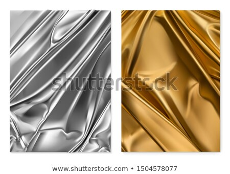 Set color fabric curtain, holiday background Stock photo © Ecelop