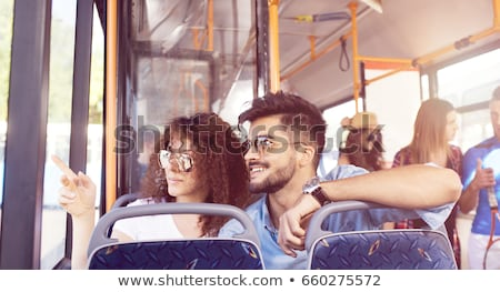 couple in a public bus Stock photo © photography33