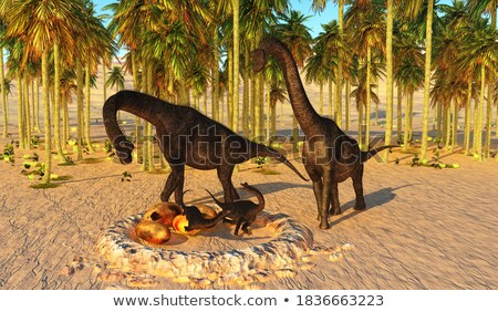 Dinosaur hatchling Stock photo © michelloiselle