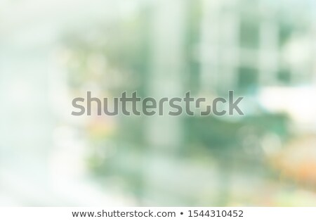 Green Background with Tree and Modern City Stock photo © WaD