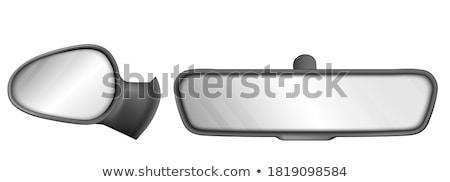 fuera · espejo · edad · temporizador · coche - foto stock © manfredxy