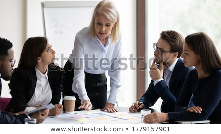 Business partners reviewing contract Stock photo © photography33