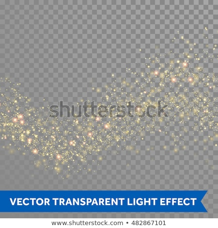 Abstract golden glittery Christmas design. Vector illustration. Stock photo © prokhorov