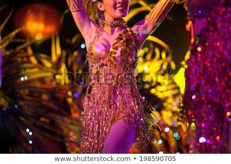 cabaret dancer stock photo © urchenkojulia
