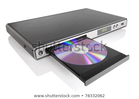 диск · дисков · игрок · белый · свет · тень - Сток-фото © supertrooper