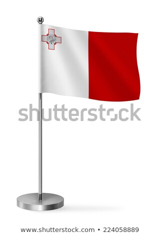 miniatura · bandeira · Malta · isolado · reunião - foto stock © bosphorus