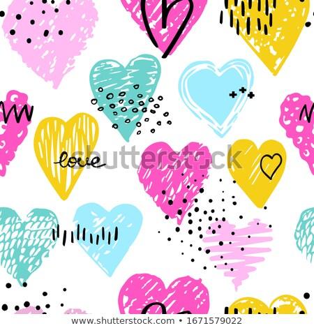 decorated hearts, patterns Stock photo © Toivo