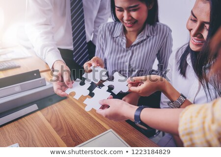Thinking As A Team For Success Stock photo © Lightsource