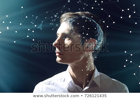 Humaine intelligence actif neurones cerveau médicaux Photo stock © Lightsource