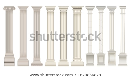 Stock photo: Roman Column