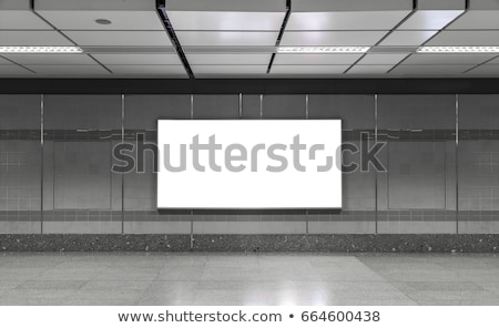modern subway station hall stock photo © kyolshin