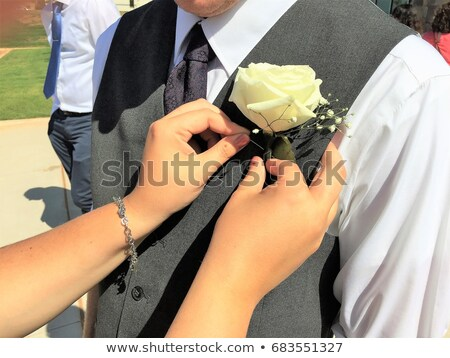Mothers boutonniere or corsage Stock photo © KMWPhotography