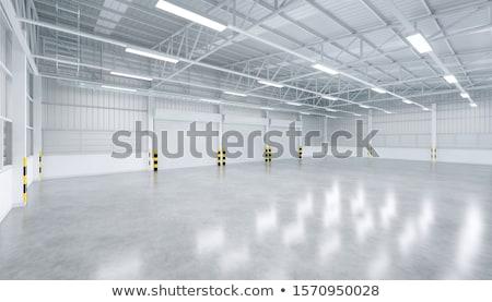 空っぽ ワークショップ 工場 中国 作業 光 ストックフォト © yuyang