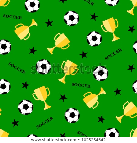Futbol çim soyut dizayn spor sanat Stok fotoğraf © rioillustrator