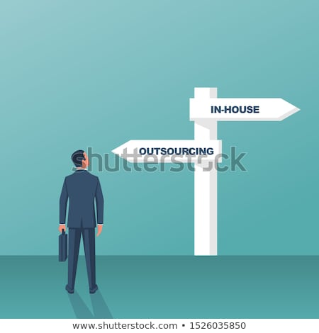 Negócio recrutamento azul ajudar sucesso Foto stock © tashatuvango