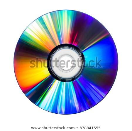 CD izolált fehér Stock fotó © ajt