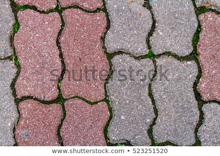 Paving Slabs. Seamless Tileable Texture. Stock photo © tashatuvango