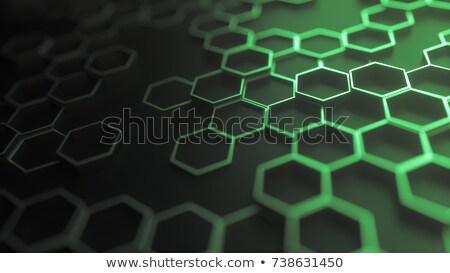 Esmeralda red vector oscuro arte verde Foto stock © HypnoCreative