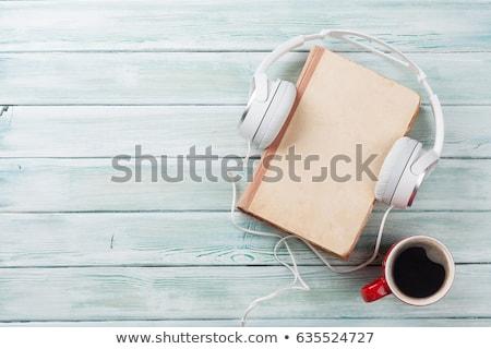 Musical libro papel textura fondo Foto stock © janaka