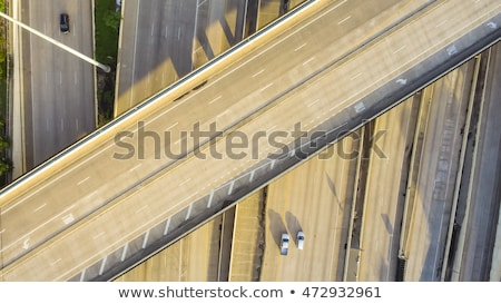 Modern Bridge on late Afternoon Stock photo © tepic
