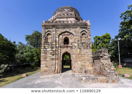 famous building of sacri gumpti in delhi india stock photo © meinzahn