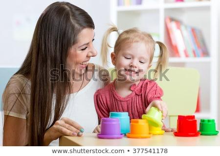 幸せ 母親 子 ストックフォト © Kor