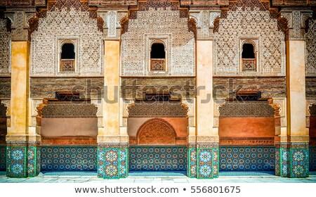 Temple in Morocco Stock photo © Hofmeester