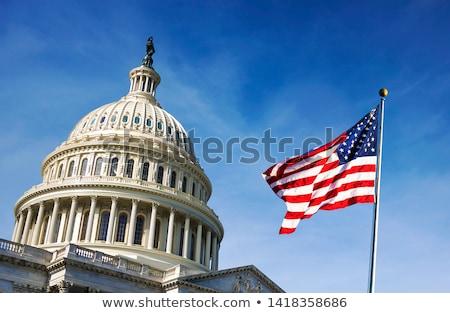 ストックフォト: 丘 · ワシントンDC · フラグ · 色 · 歴史 · カラー