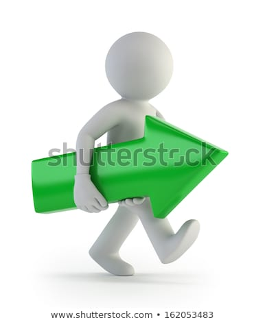 3d small people - training courses Stock photo © AnatolyM