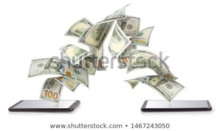 Money transfer between card and bank Stock photo © jossdiim