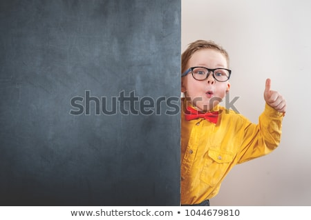 Education thumb up  Stock photo © alexmillos
