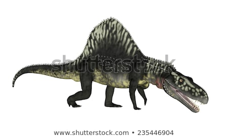 arizonasaurus dinosaur   3d render stock photo © elenarts
