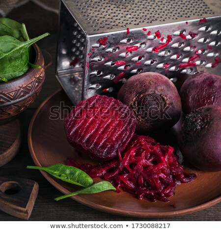 Red beet salad  Stock photo © Makse