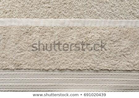 Beżowy ręcznik tekstury wzór tle Zdjęcia stock © stevanovicigor