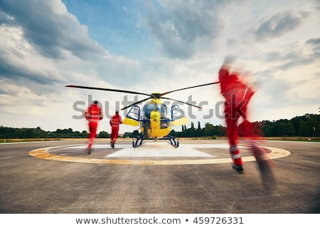 Rescue helicopter Stock photo © manfredxy