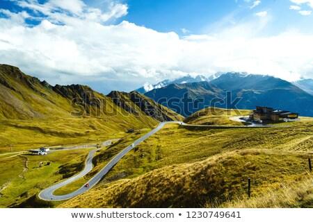 highest peak of austria grossglockner 3798 m stock photo © kasjato