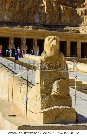 Hatshepsut head in temple near Luxor in Egypt Stock photo © Mikko