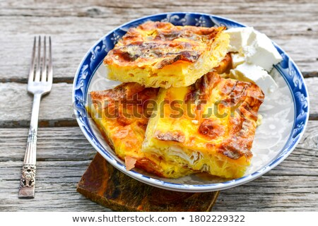 Dulce tarta de queso pasas Pascua pan cena Foto stock © mady70