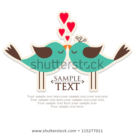 Valentine's Day Heart with wing Stock photo © WaD