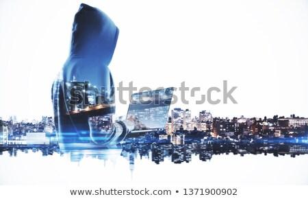 Stockfoto: Crimineel · verdubbelen · blootstelling · criminaliteit · onbekend