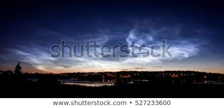 美しい · 空 · 現象 · 雲 · 夏 · 1泊 - ストックフォト © juhku