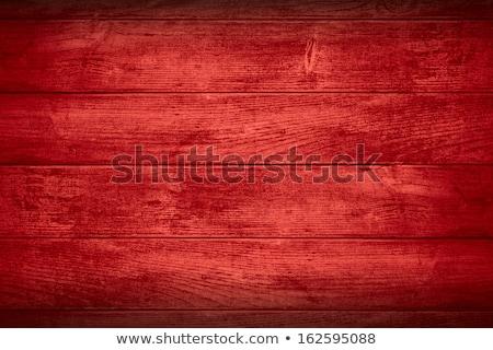 Piros fa viharvert festett háttér retro Stock fotó © jeayesy