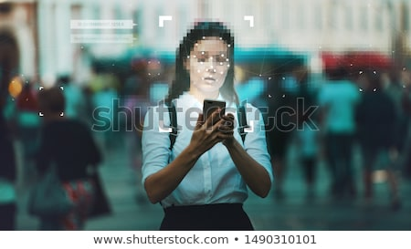 personal data business stock photo © lightsource