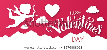 Stock photo: Valentine's  Cupid