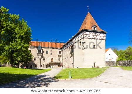 Paleis Tsjechische Republiek reizen kasteel architectuur Europa Stockfoto © phbcz