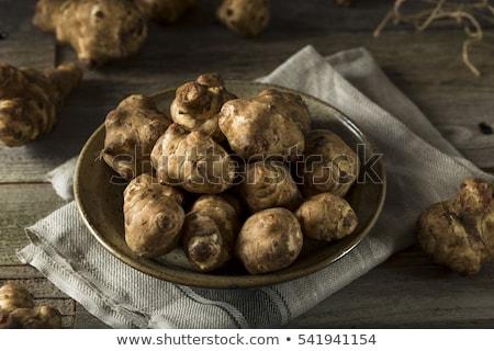 Fresh Jerusalem artichoke Stock photo © Klinker