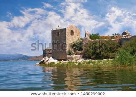Сток-фото: озеро · форт · средневековых · крепость · тюрьмы · сейчас