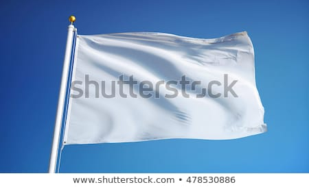 Blue Flag against blue sky Stock photo © amok